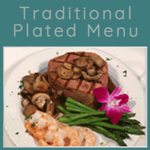 Traditional Plated Menu